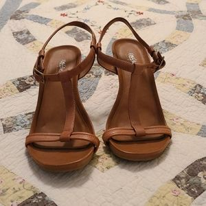 """4"""" strappy Mossimo wedges"""